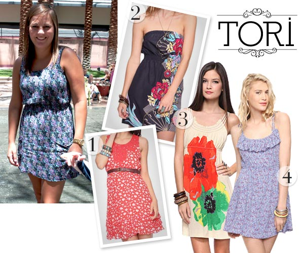 floral print summer dresses