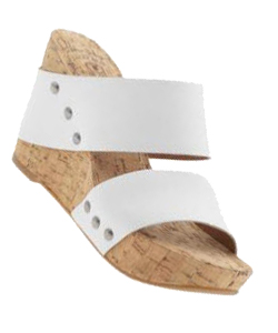 cute white wedges for spring and summer