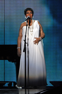 Aretha Franklin's fashionable fall