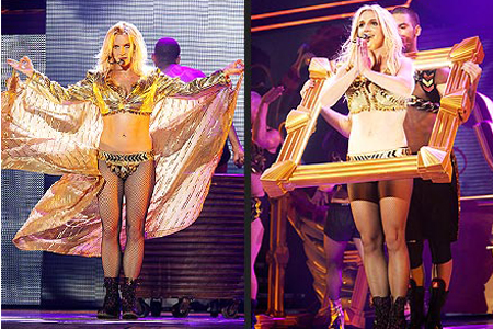 Britney Spears Femme Fatale costumes