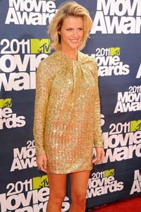 Brooklyn Decker in a No.21 dress at the 2011 MTV Movie Awards