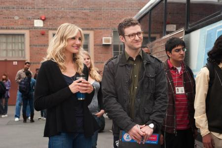 Cameron Diaz and Justin Timberlake star in Bad Teacher