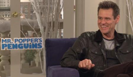 Jim Carrey exclusive Q&A