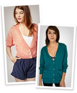 solid color work-appropraite cardigans