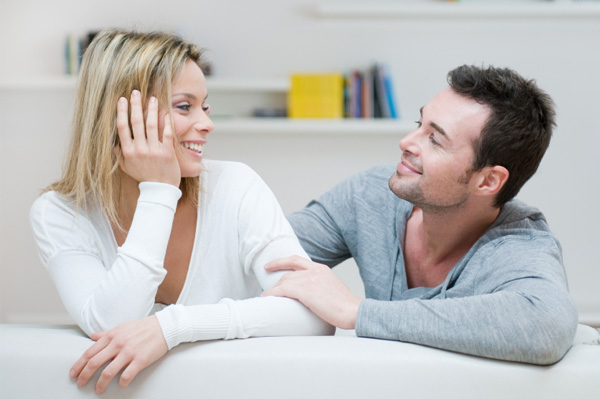 couple in agreement after compromise