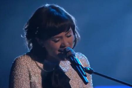 Dia Frampton on The Voice