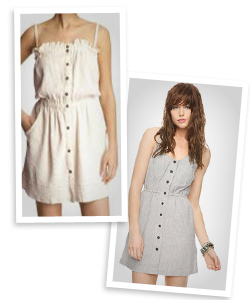 casual dresses in neutral colors