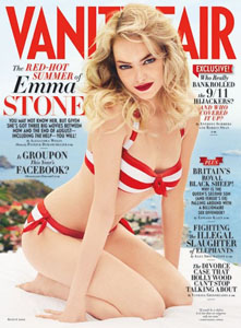 Emma Stone in Vanity Fair
