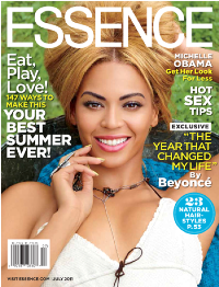 Beyonce writes for essence