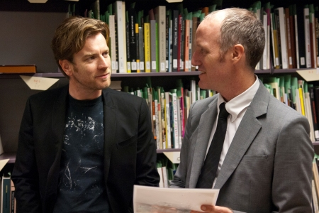 Ewan McGregor and Mike Mills on the set of Beginners