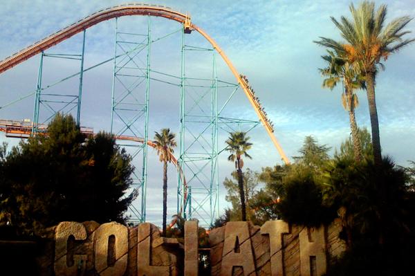 Goliath rollercoaster