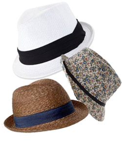 cute hats for sensible summer accessorizing