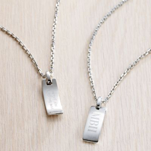 Hidden message dog tag