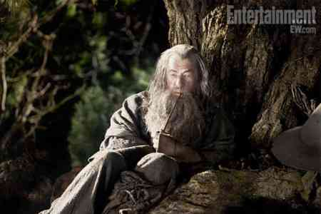 Gandolf is back in The Hobbit