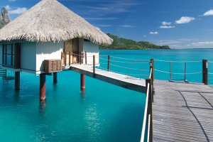 romantic honeymoon vacation spot, Bora, Bora