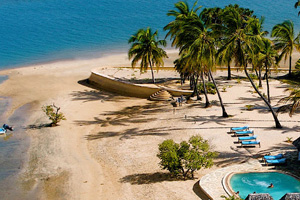 Honeymoon hotspot: Manda Bay in Kenya