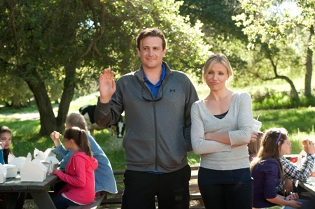 Jason Segel and Cameron Diaz in Bad Teacher