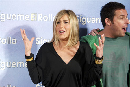Jennifer Aniston Adam Sandler