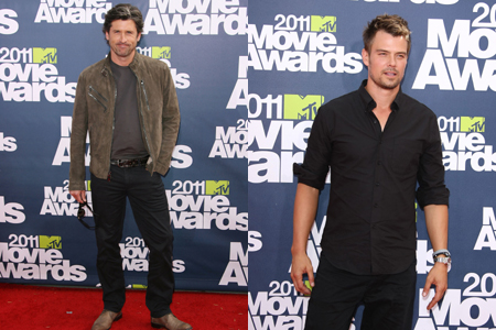 Patrick Dempsey and Josh Duhamel at MTV movie awards