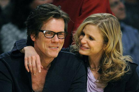 Kevin Bacon and Kyra Sedgewick