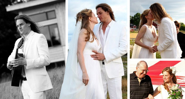 True Blood celebrity, Kristin Bauer's fairy tale wedding and love story