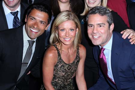 Mark Conseulos and Andy Cohen in the running to replace Regis Philbin