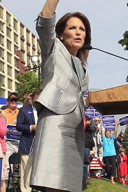 Michele Bachmann: stealing Sarah Palin's style?