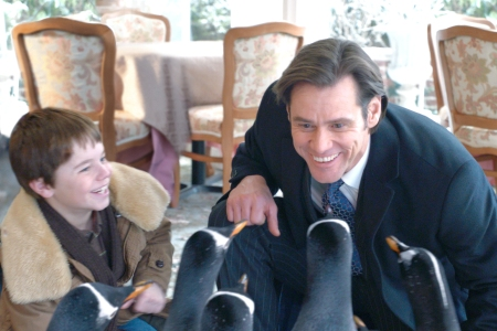Mr. Poppers Penguins star Jim Carrey