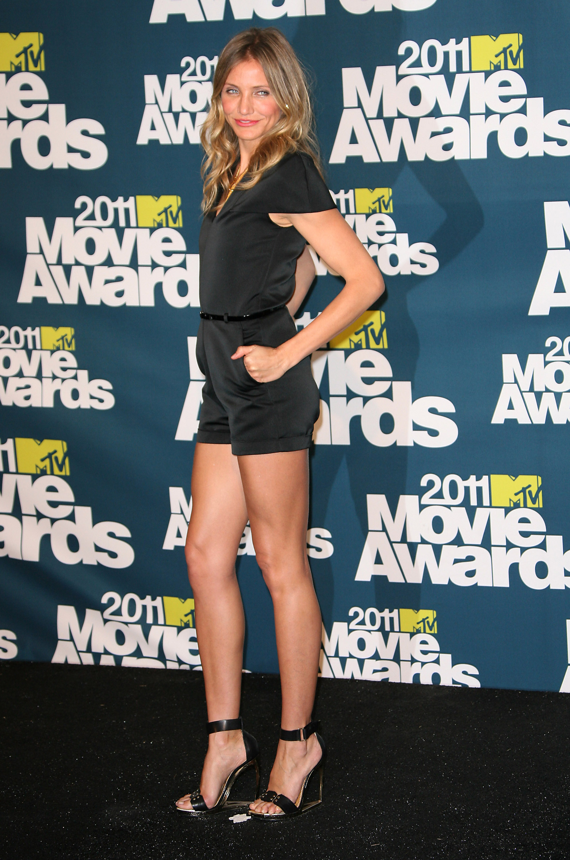 Cameron Diaz celebrity style: 2011 MTV Movie Awards