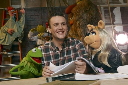 The Muppets starring Jason Segel, who wrote the film too!