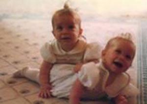 Olsen twins as babies
