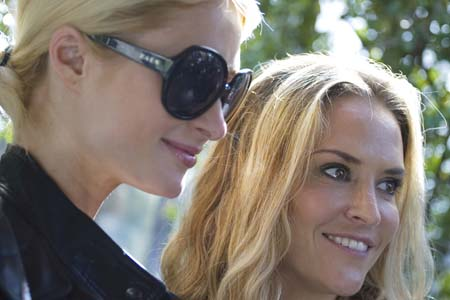 Paris Hilton sets up Brooke Mueller