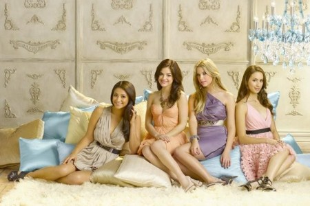 The cast of Pretty Little Liars