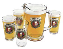 Personalized pub glasses
