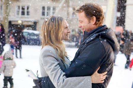 Sarah Jessica Parker and Greg Kinnear in I Don't Know How She Does It
