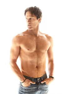 Stephen Moyer shirtless outtake, shot by James White for Men's Health
