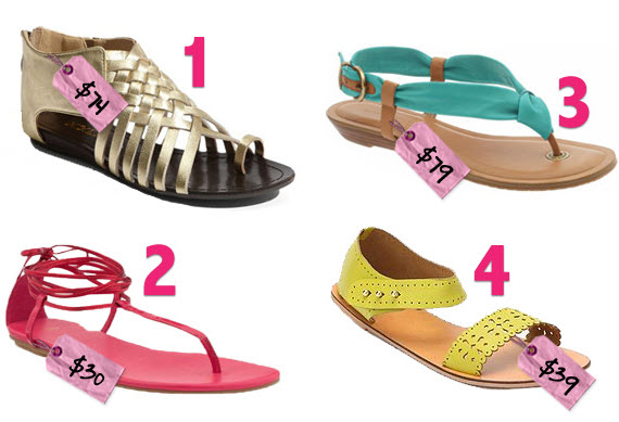 cute sandals for summer footwear