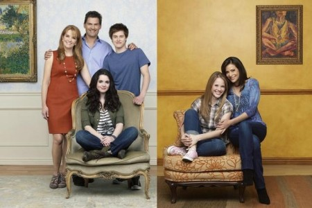 The cast of Switched at Birth