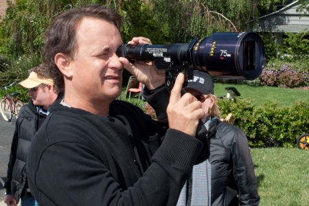 Tom Hanks directing Larry Crowne
