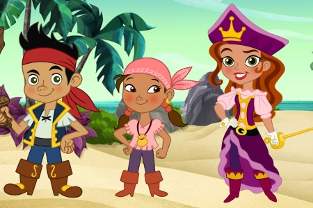 Tori Spelling guests on Jake and the Never Land Pirates