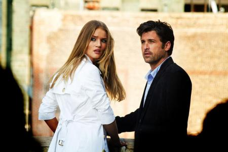 Rosie Huntington-Whiteley and Patrick Dempsey