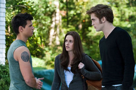 Twilight Eclipse Edward, Bella and Jacob