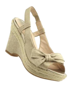 khaki wedges shoe trend for summer
