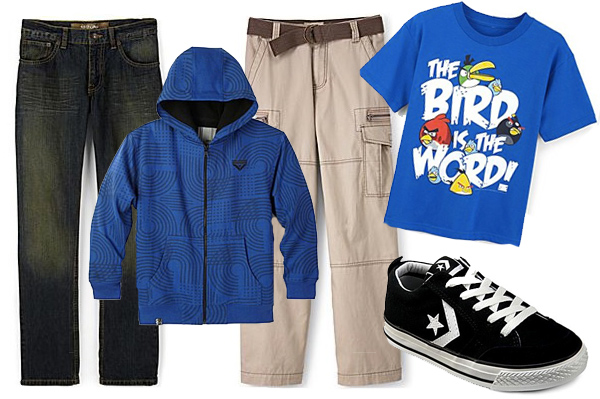 Back to school fashion for boys