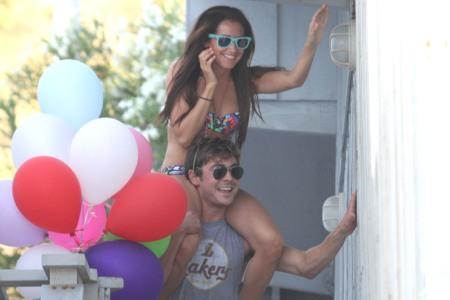 Ashley and Zac Make Waves