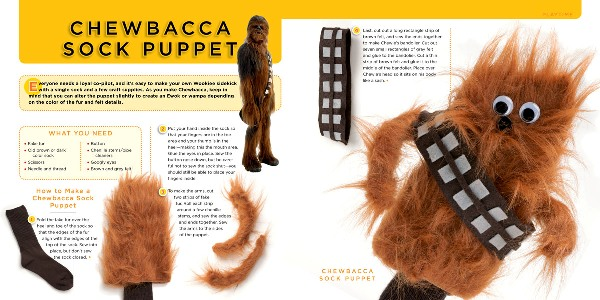 Make a Chewie out of a sock!