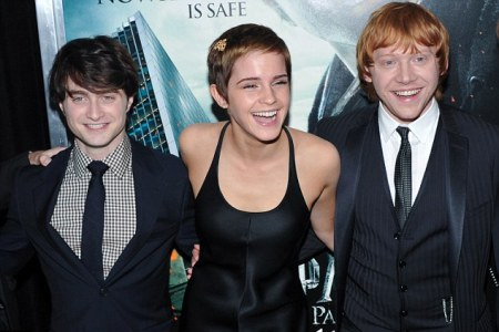 Deathly Hallows: Red carpet party!