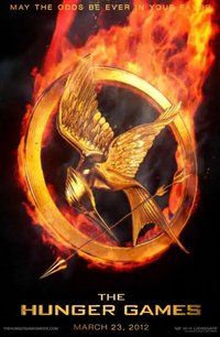 Burning up for the Hunger Games poster