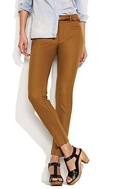 Harry Potter Style: Madwell Slim Fit Bronze Pants