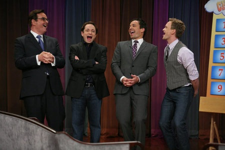 NPH rocks late night charades